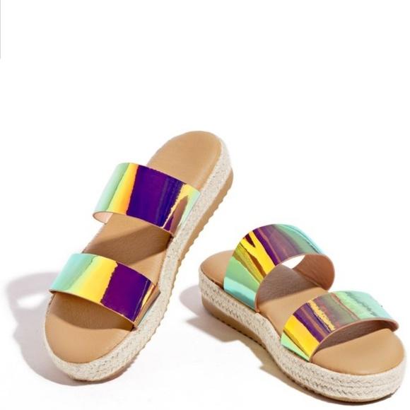 Shoes   Sale Rainbow Sandals   Poshmark
